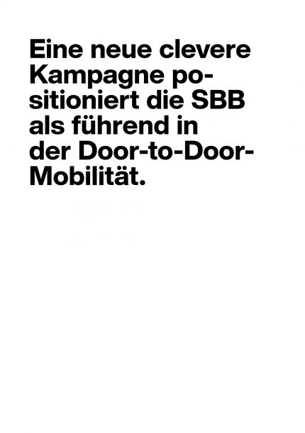 SBB New Mobility